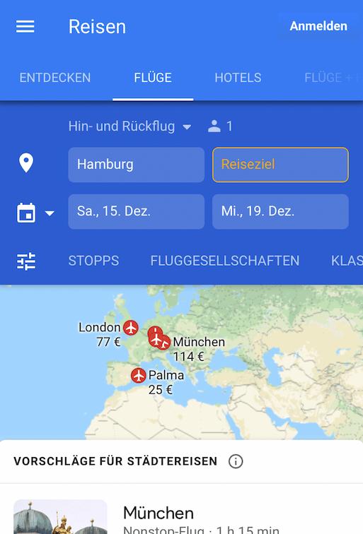 Google Travel